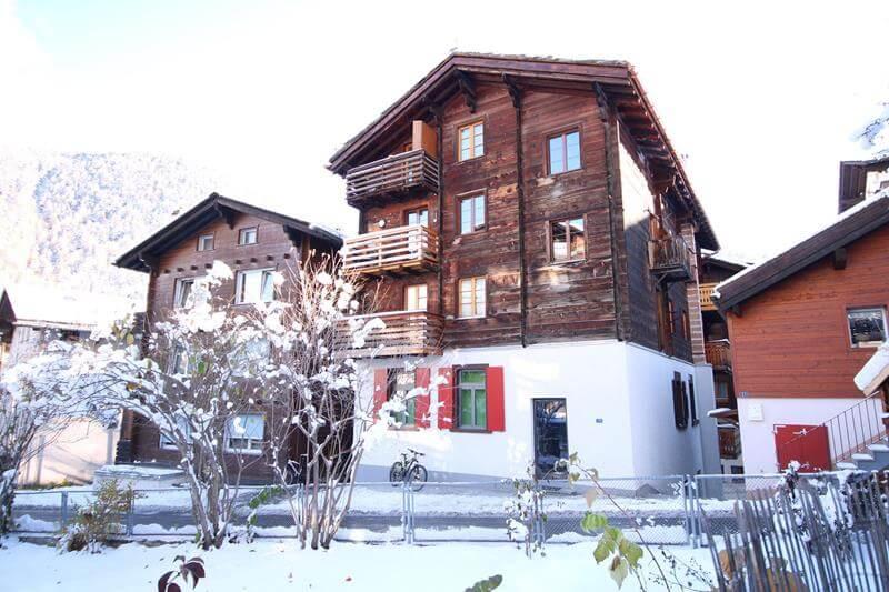 Zermatt – Studio im alten Dorfteil