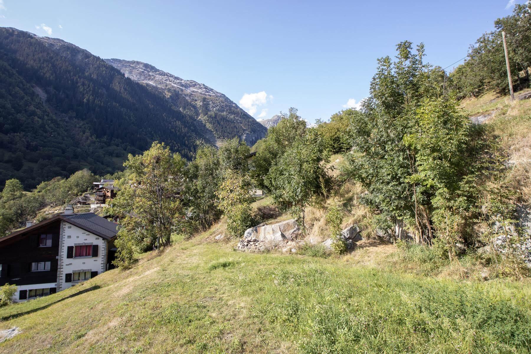 Fieschertal – Attraktives Bauland an aussichtsreicher Lage